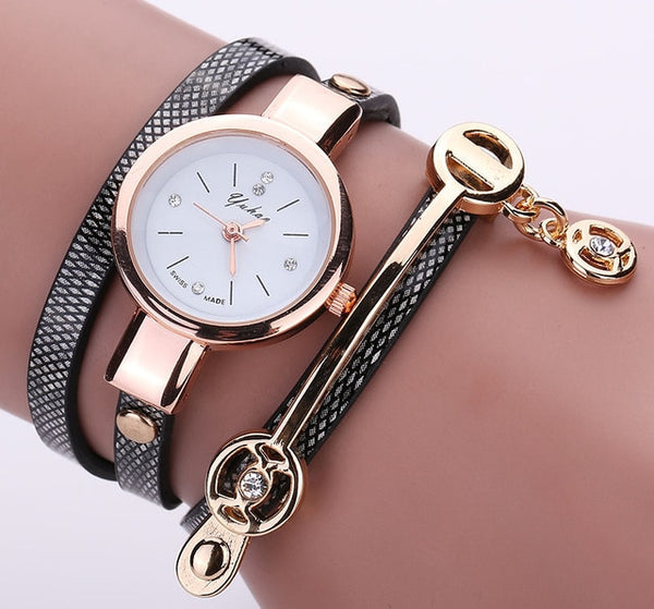 Luxury Quartz Fashion Bracelet Wrist Watch Elegant Gifts