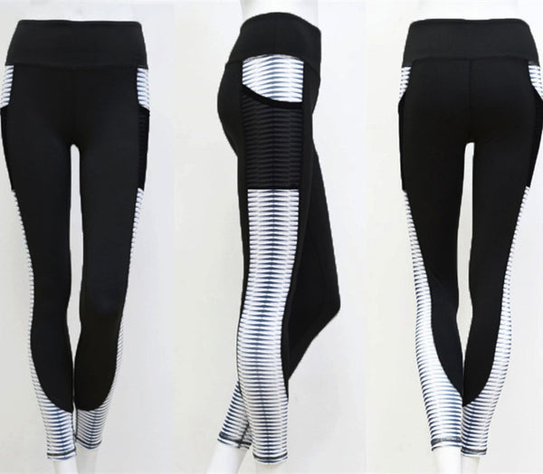 Pocket High Chiuno Leggings Activewear - Nhema