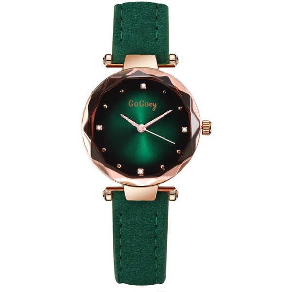 Masyadong Damit na Crystal Crystal Elegant Quartz Wristwatch - Wholesale_Star_1