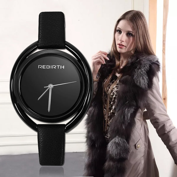 REBIRTH Women's Watch Top Brand Fashion Ladies Watches