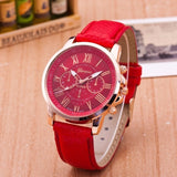 Quartz Fashion Fashion Watches - Red