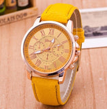 Quartz Fashion Fashion Watches - Yellow