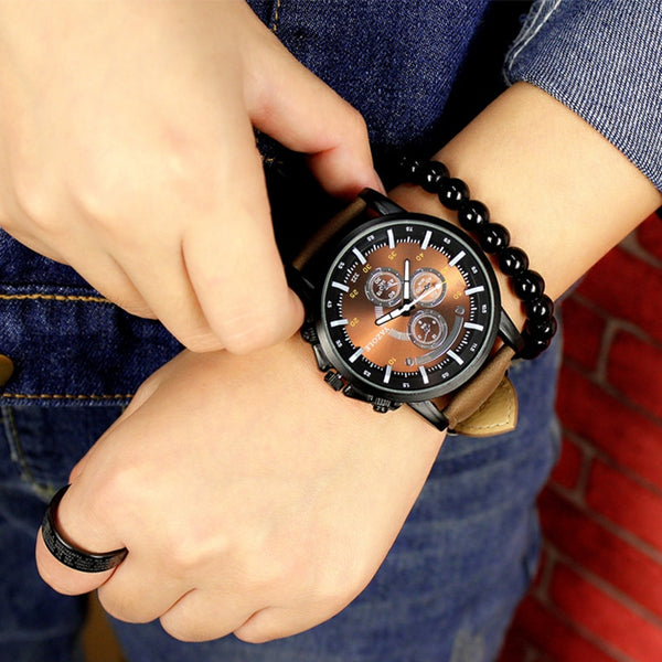 Luminous Men Watch Luxury Top Brand Business Male Wristwatch