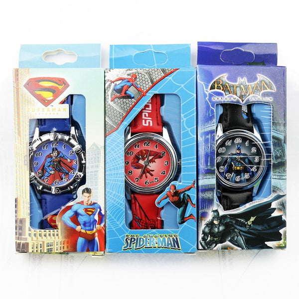 Children's Cartoon Batman Kids Watch Very Cool Colorful Gift