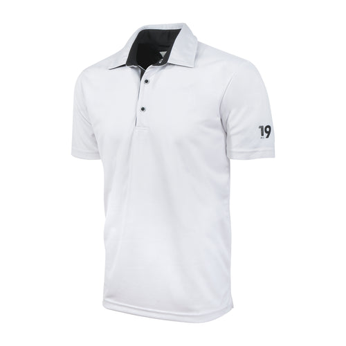 Eco Polo® White w/ Black