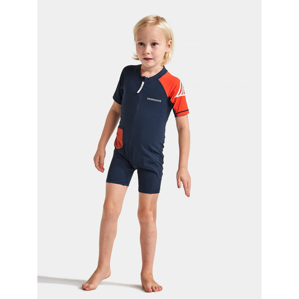Reef Kid's Swimming Suit - Uimapuku - Didriksons - Navy - Muksukaskauppa