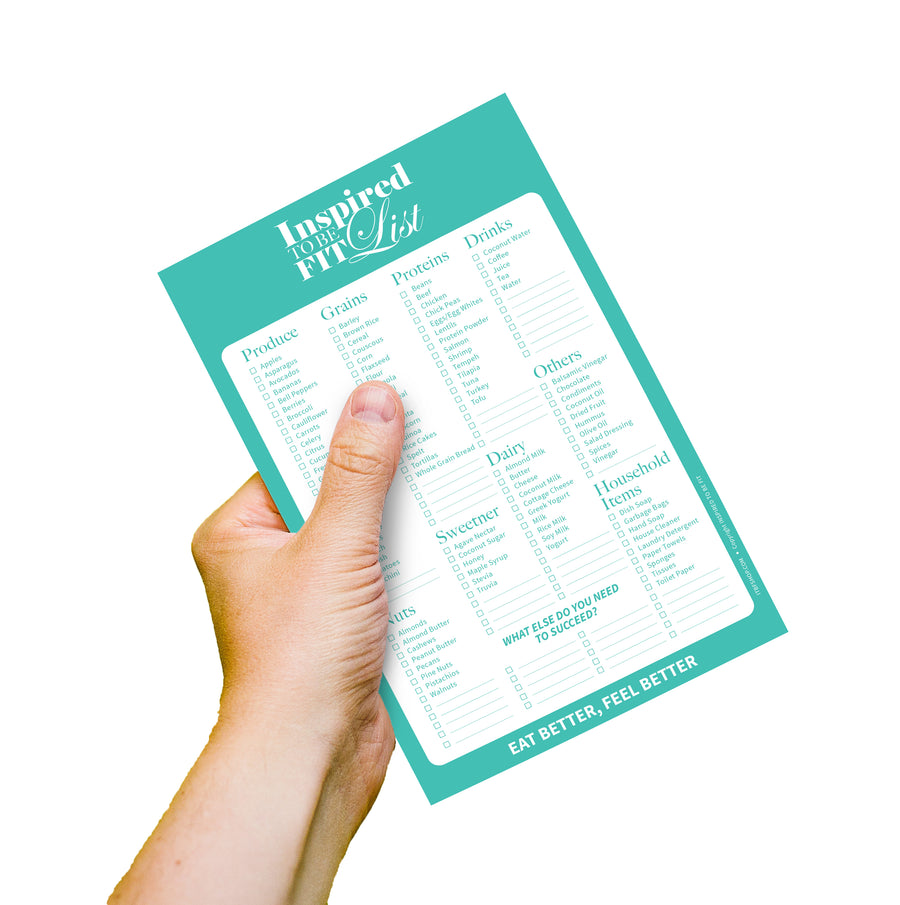 Healthy Grocery List - Printable