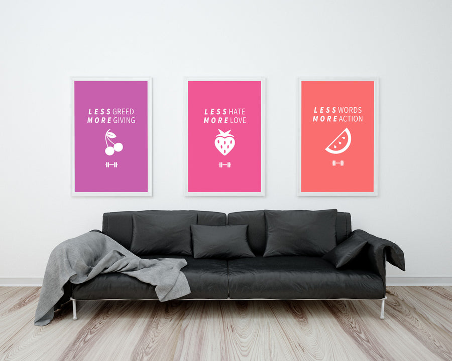 Less & More Series - Printable