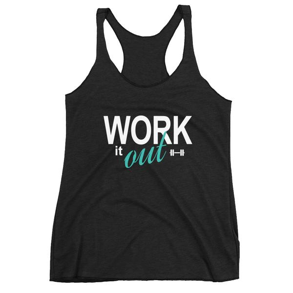 Work It Out Racerback Tank