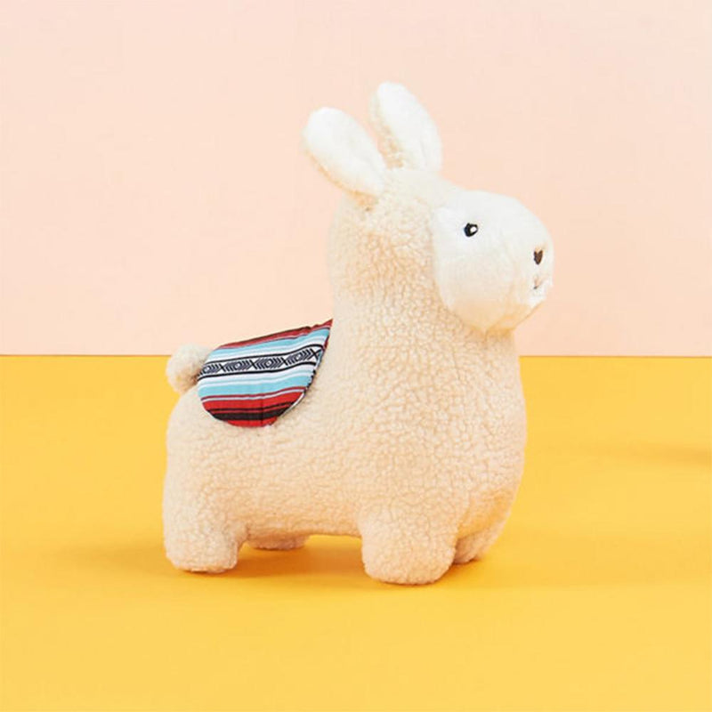 ZippyPaws Storybook Snugglerz - Liam The Llama Squeaky Plush Dog Toy