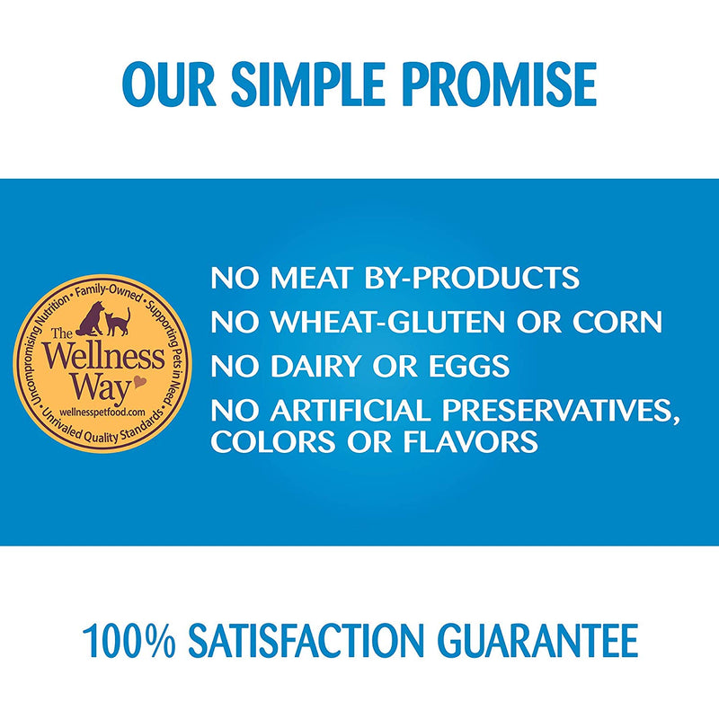Wellness Simple Limited Ingredient Whitefish & Potato Formula Canned Dog Food