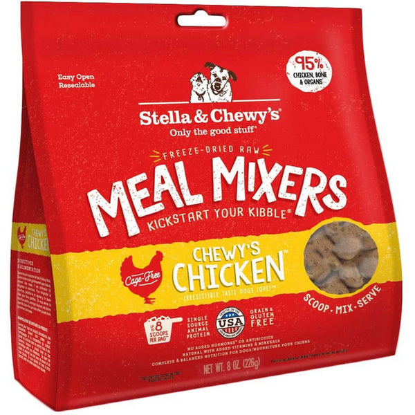 Chewy's Chicken Meal Mixers Freeze-Dried Raw Dog Food
