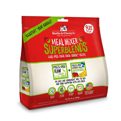 Meal Mixer SuperBlend Cage Free Duck Duck Goose Freeze-Dried Raw Dog Food