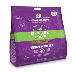 Duck Duck Goose Dinner Morsels Freeze-Dried Raw Cat Food