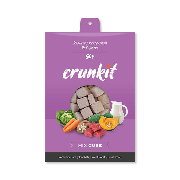 Crunkit Premium Freeze-Dried Pet Snacks - Immunity Care