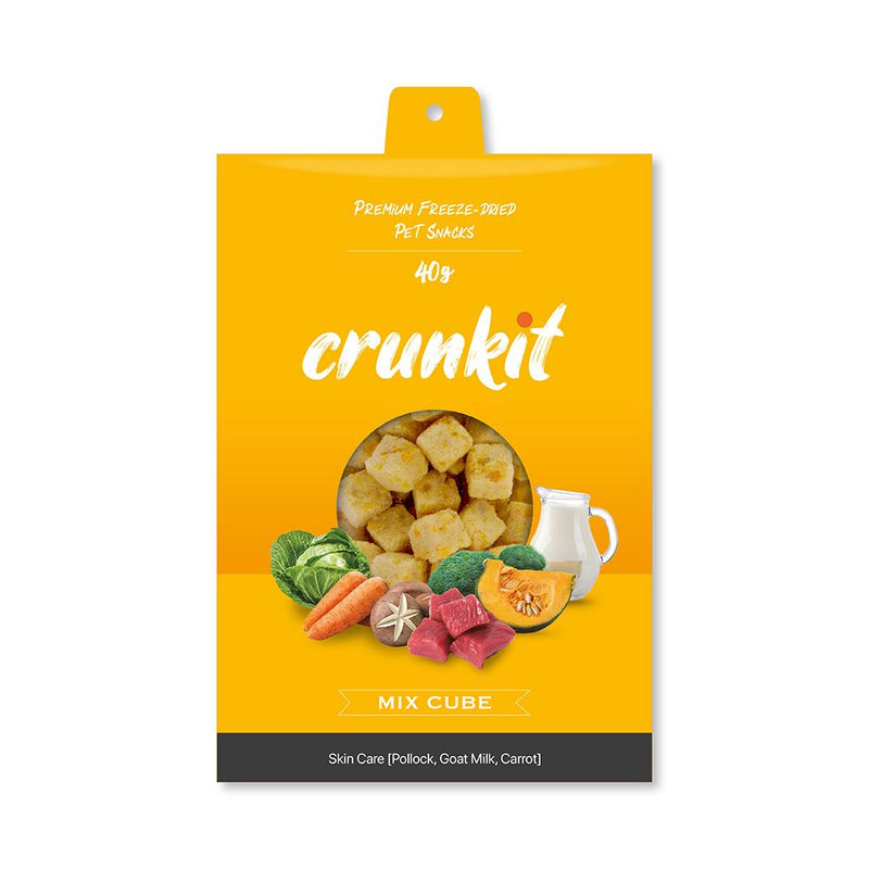Crunkit Premium Freeze-Dried Pet Snacks - Skin Care