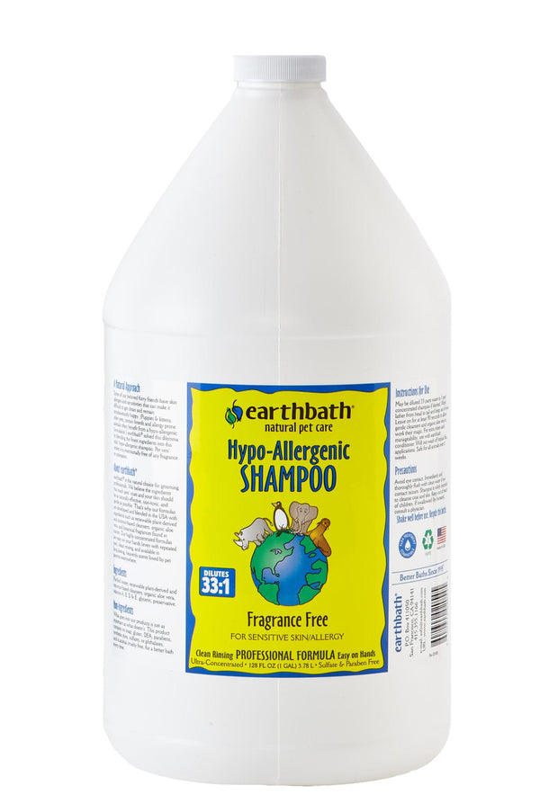 Hypo-Allergenic Fragance free dog & cat Shampoo