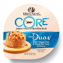 CORE Grain-Free Divine Duos Tilapia Pate & Ahi Wet Cat Food