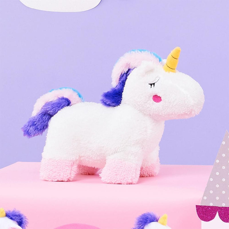 ZippyPaws Storybook Snugglerz - Charlotte The Unicorn Squeaky Plush