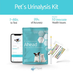 Ahead Single Pack Dog & Cat Urinalysis Kit