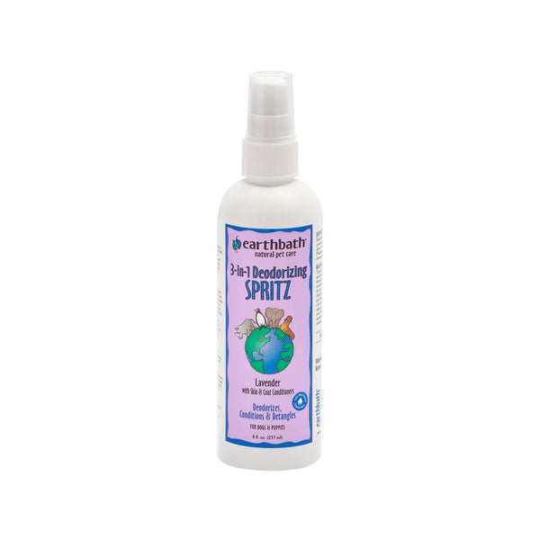 3-IN-1 Deodorizing Lavender Dog Spritz