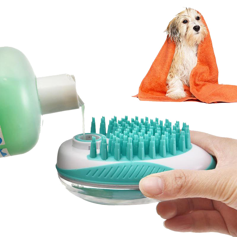 Rubeaz Soap Dispenser & Brush For Cat & Dog