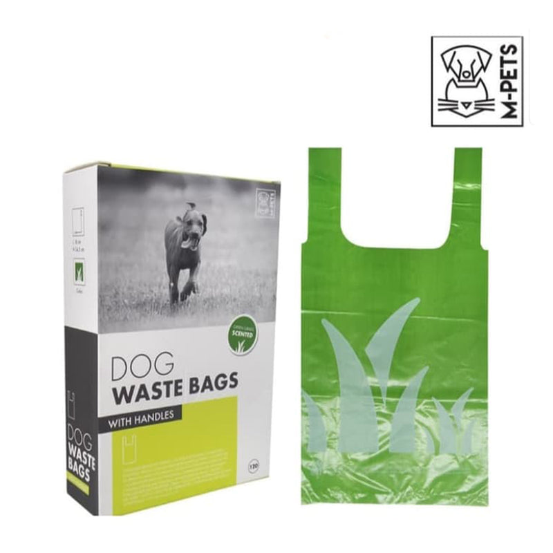Waste Bag Dog with Handles 120pcs