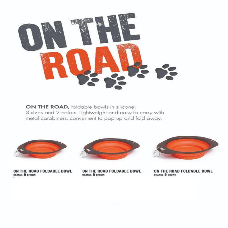 On The Road Foldable Travel Bowl