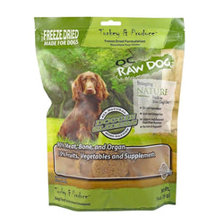 Turkey & Produce Sliders Freeze-Dried Raw Dog Food