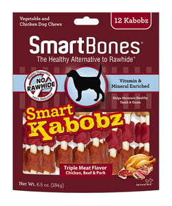 Smart Kabobz Chicken Beef and Pork Flavor