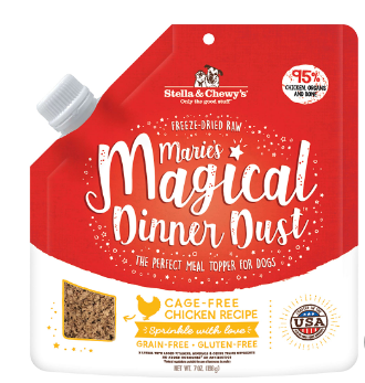 Marie's Magical Dinner Dust Cage-Free Chicken Freeze Dried Raw Topper for Dogs