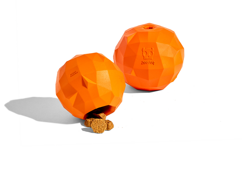 Super Orange Dog Toy