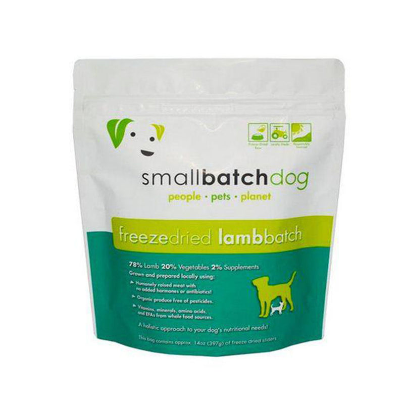 Lamb Batch Sliders Freeze-Dried Raw Dog Food