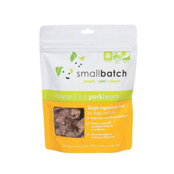 Pork Hearts Freeze-Dried Cat Dog Treats