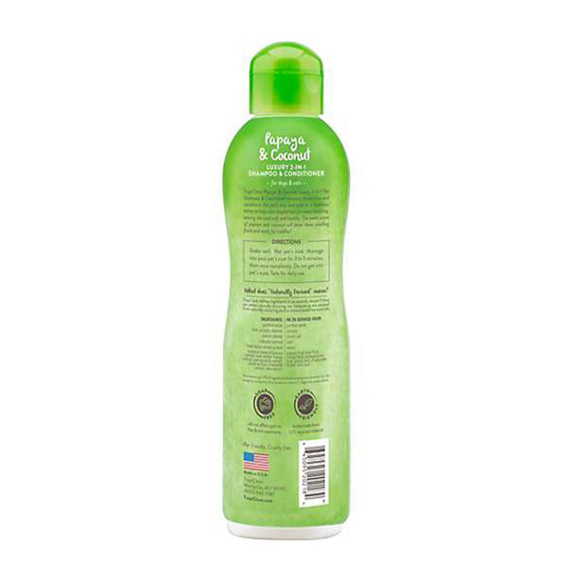 Grooming Shampoo Papaya and Coconut