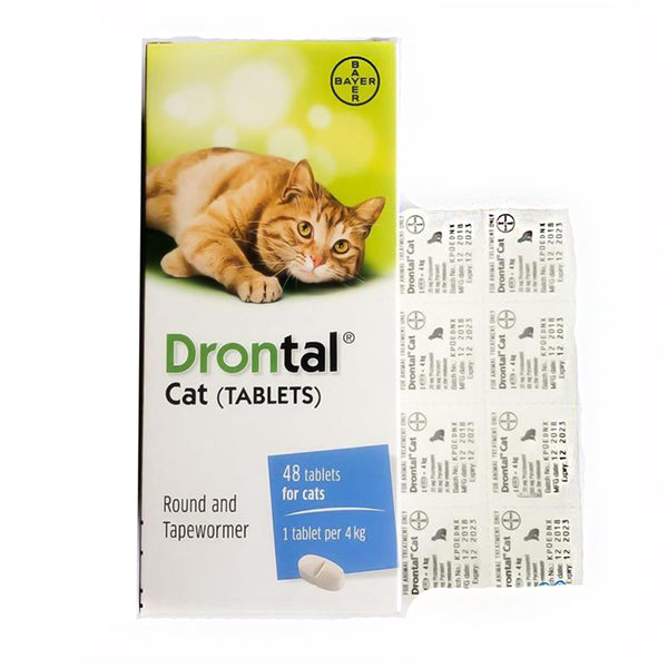 Drontal Anthelmintic for Cat per Tablet