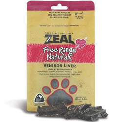 100% Natural Free Range Venison Liver Dog Treats
