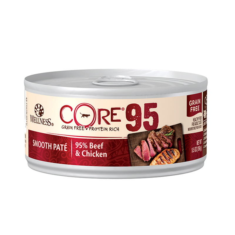 CORE 95% Beef & Chicken Grain-Free Canned Cat Food
