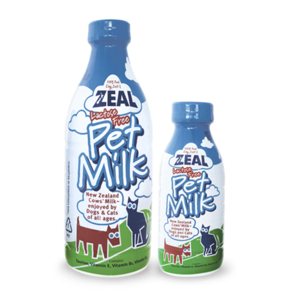 100% Lactose Free Pet Milk for Cats & Dogs