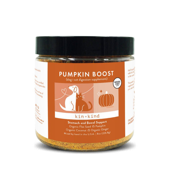 Pumpkin Boost Stomach and Bowel Support  Dog Cat Supplement