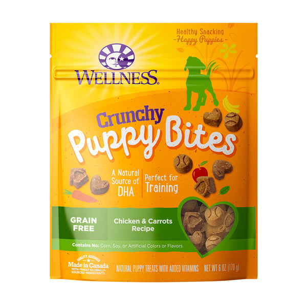 Complete Health Puppy Bites Crunchy Chicken & Carrots Recipe Grain-Free Dog Treats