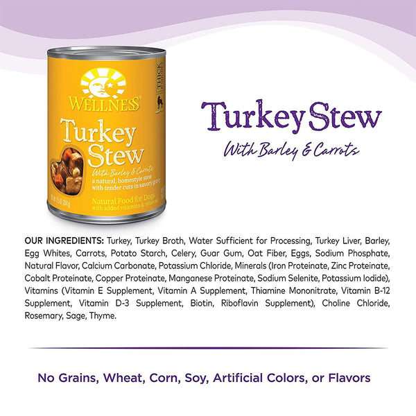 Complete Health Turkey Stew with Barley & Carrots Wet Dog Food