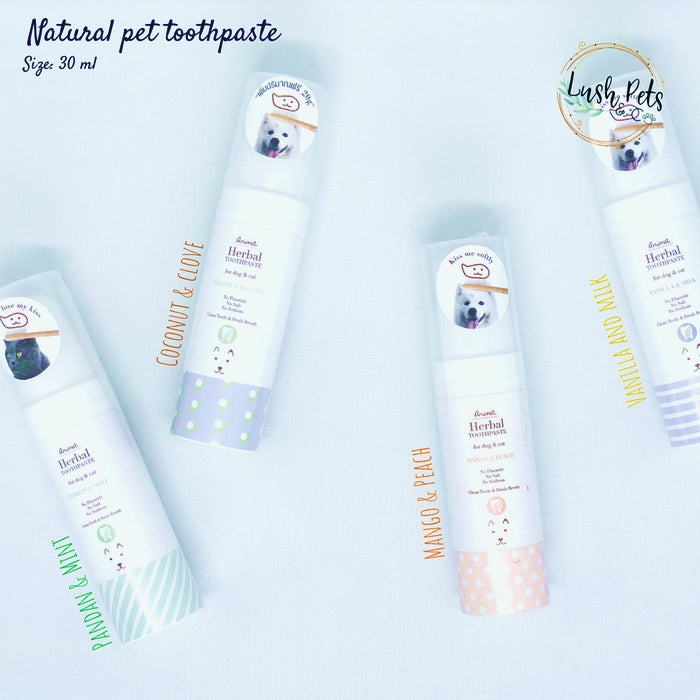Toothpaste Vanilla & Milk Cat Dog Toothpaste