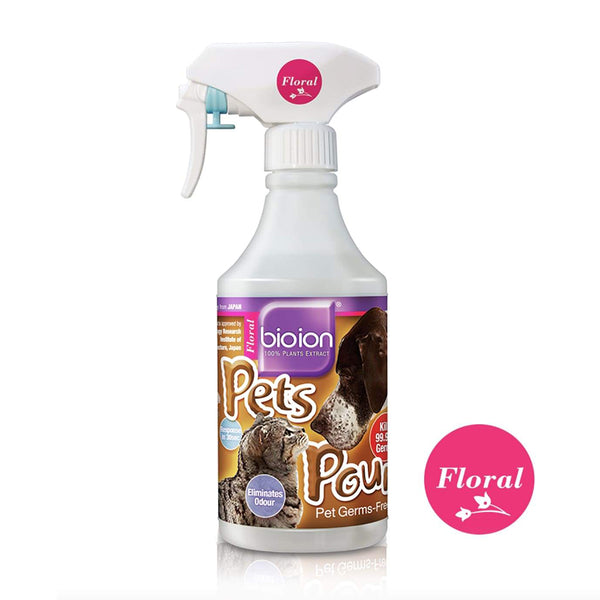 Pet Pounce Floral Scent Pet Sanitizer