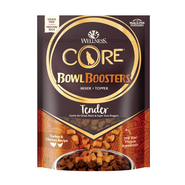 CORE Bowl Boosters Tender Turkey & Chicken Recipe Mixer or Topper Dog Food