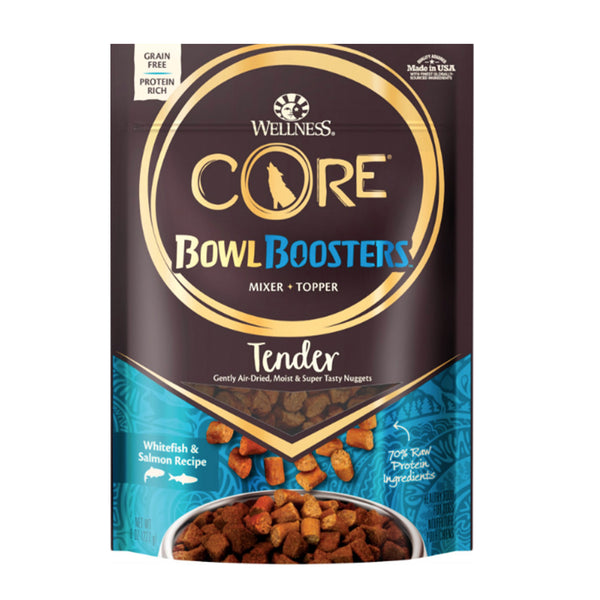 CORE Bowl Boosters Tender Whitefish & Salmon Recipe Mixer or Topper Dog Food