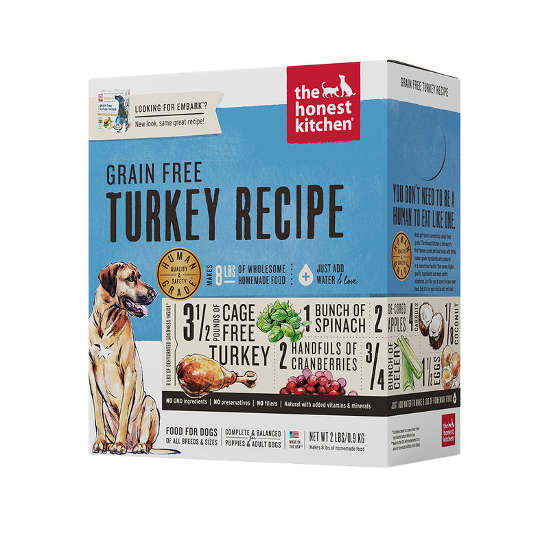 Grain-Free Turkey Recipe (Embark) Dehydrated Dog Food