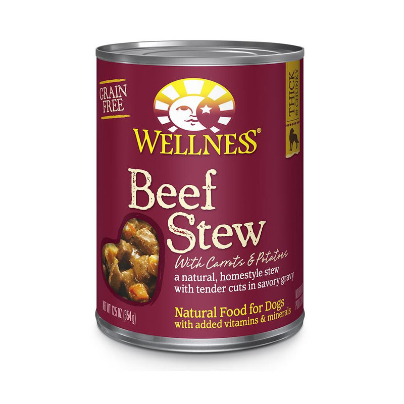 Wellness Beef Stew with Carrots & Potatoes Wet Dog Food