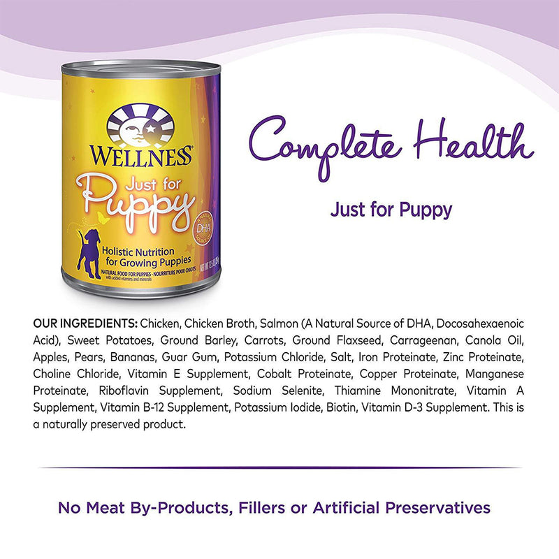 Complete Health Just for Puppy Canned Dog Food