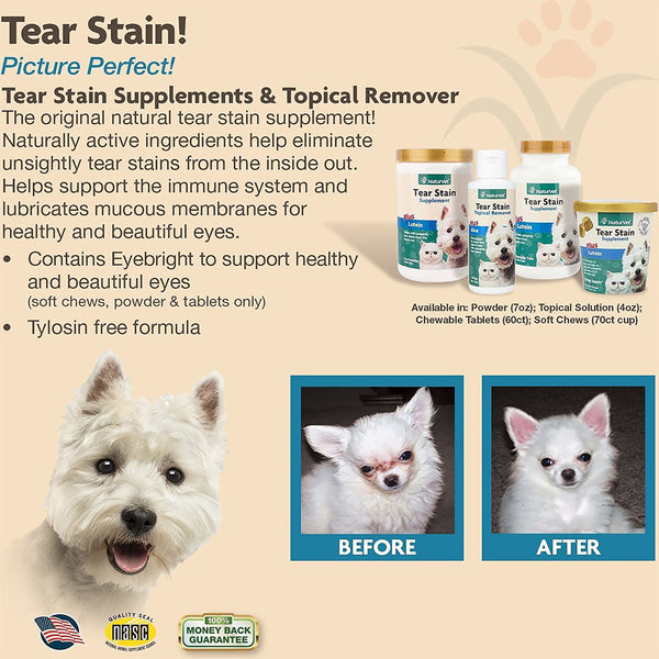 Tear Stain Plus Lutein Tablets